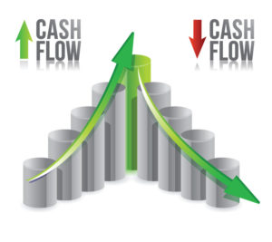Cash flow rise and fall image Holst group