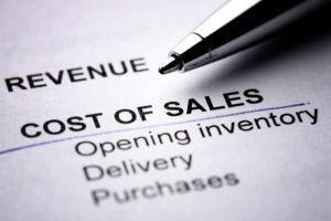 Cost of Sales from Colour Accounting from Holst
