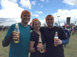 Iain Chalmers & Emily Holzer Tough Mudder 2015 from Holst