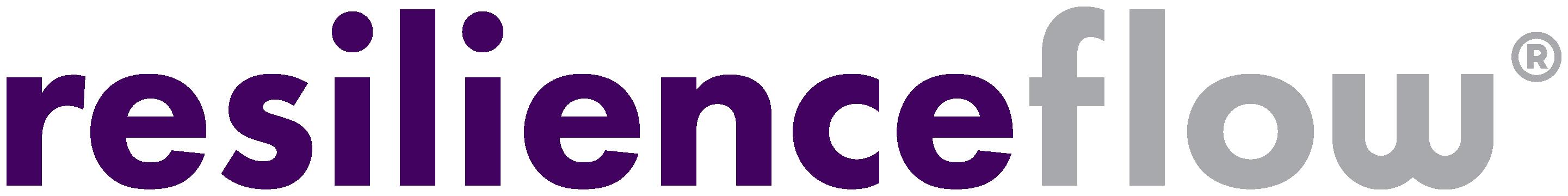 resilienceflow®-logo-plum-grey-600dpi